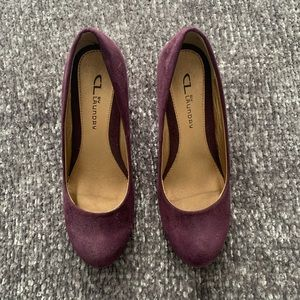 CL by Laundry Purple Wedges | size 7